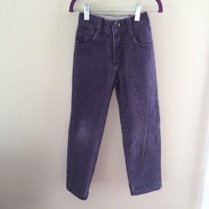 Vintage Riders Plum Purple Mom Jeans Size 6